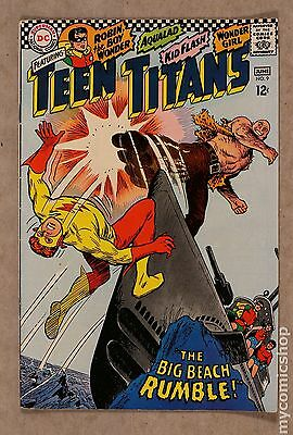 Teen Titans (1966 1st Series) #9 FN- 5.5