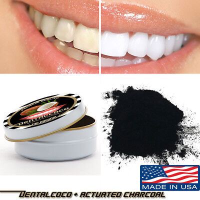 Activated Charcoal Powder 2 oz Quality natural weeth whitener Whitening Carbon