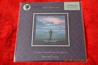 Ennio Morricone The legend of 1900 RSD 2017 DE LUXE LIMITED CLEAR VINYL LP