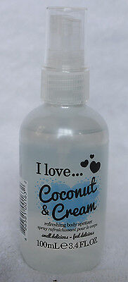 I Love... Coconut & Cream Refreshing Body Spritzer Spray 100ml