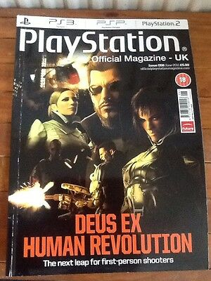PlayStation Official Magazine Issue 58(June,2011)