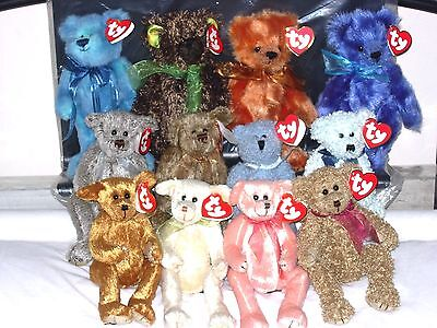 TY ATTIC BOY BEARS - without jumpers etc