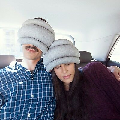 Ostrich Pillow Power Napping Portable Neck Head Rest Travel Cushion Light Unisex