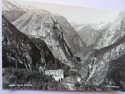 Real Photo Postcard Norway, 4609  Norge - Stalheim In Good Condition