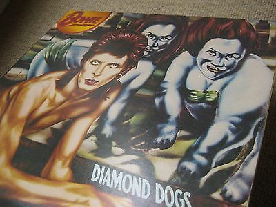 David Bowie Diamond Dogs 1st Uk Press A1/B1 Oly LP