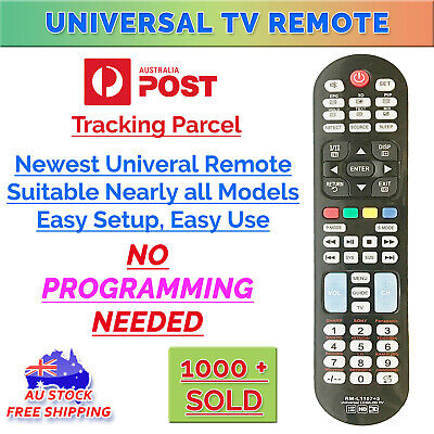 Universal LCD LED HD TV Remote Control For SONY SAMSUNG JVC LG TCL SHARP & MORE