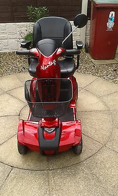 mobility scooter Rascal Vantage 4mph in red