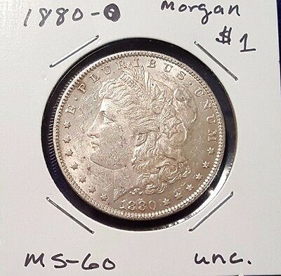1880-O Morgan Silver Dollar - Very Nice Mint State coin!
