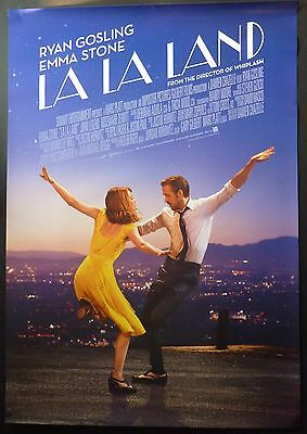 La La Land Original 2017 Cinema 1 Sheet Poster Ryan Gosling Emma Stone