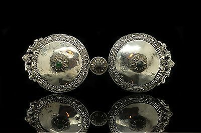 Antique Original Silver Ottoman Islamic Anatolian Amazing Belt Buckle