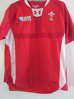 Wales  Rugby Union World Cup 2011 Pro Home Shirt Adult Size XL /41382