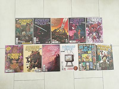 Howard the Duck #1-11 VF/NM (2015) Gwenpool