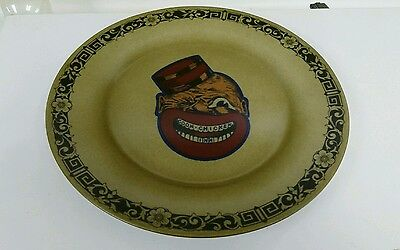 Black Americana Coon Chicken Inn Restaurant Syracuse China 9 Inch Dinner Plate