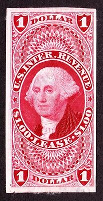 US R70TC3 $1 Lease Trial Color Proof on India Paper VF