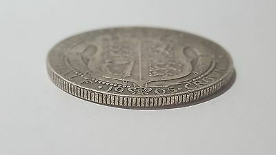 1905 Edward Vii Silver Half Crown