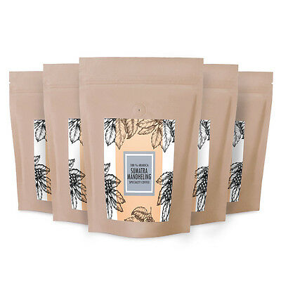 FTO 100% Arabica Sumatra Mandheling Highlands Coffee 100-1000gr Specialty Grade