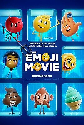 The Emoji Movie Poster A4 Print