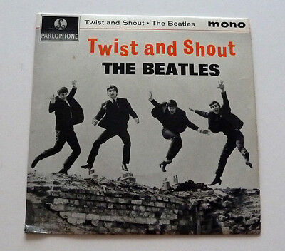 The Beatles Twist And Shout 1963 Parlophone Mono Ep – Gep 8882 - Misprint
