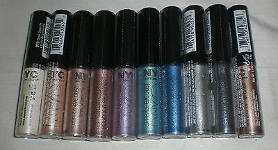NYC New York Color Sparkle Eye Dust Eyeshadow Makeup Brand New PICK YOUR SHADE