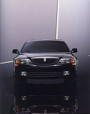 2000 Lincoln LS Deluxe Sales Brochure w/Trim Chart & Paint Chips
