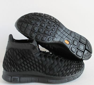 cheap for discount 89c8c 4bb2f Nike Free Inneva Woven Wvn Mid Sp All Black Sz 8  800907-001