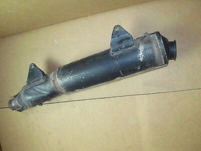 honda xrv 750 exchaust used GENUINE rd04 1990-1992 AFRICA TWIN silencer