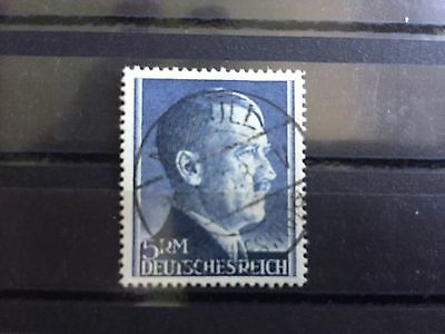 Briefmarken Deutsches Reich - gestempelt Freimarke A.H. 5 Mark - Michel # 802B