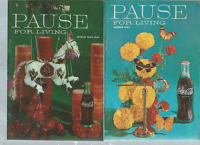 NF-019 - Six Vintage Coca Cola Coke Pause For Living Magazines 1956-1964