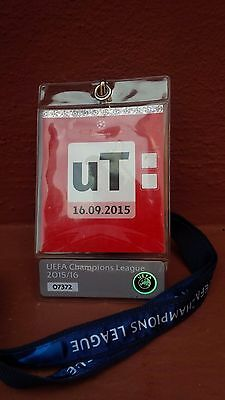 2015 Football UEFA Champions League Rare pass access all areas