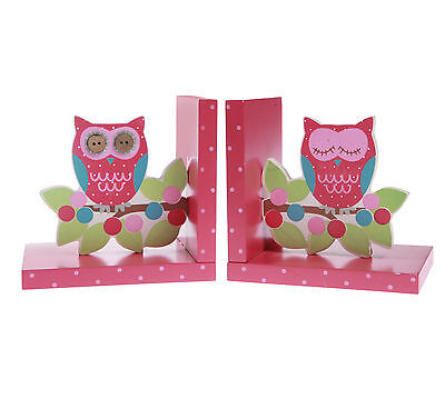 Gorgeous Owl and Branch Bookends by Sass & Belle