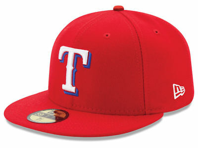 sale retailer 9740b c4bc4 New Era Texas Rangers ALT 59Fifty Fitted Hat (Red) MLB Cap