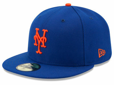New Era New York Mets GAME 59Fifty Fitted Hat (Royal Blue) MLB Cap