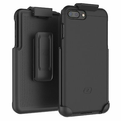"iPhone 7 Plus 5.5"" Belt Clip Case,Hybrid Cover w/ Secure-fit Holster"