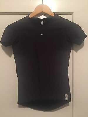 2 x Assos Spring Base Layer - Short Sleeve - Size M