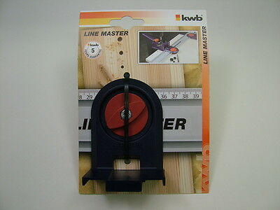 Adaptor to use KWB 7580-00 and 7581-00 dowel guides with KWB Line Master system