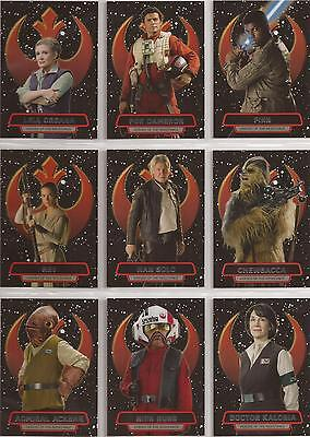 Star Wars - The Force Awakens Series 2 - Heroes of the Resistance-Set Topps 2016