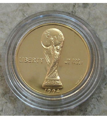 World Cup USA 1994 Commemorative Coin Proof Gold Five Dollar