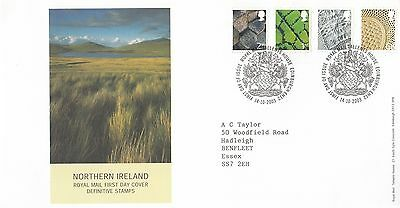 (01259) GB Northern Ireland FDC 68p E 1st 2nd Tallents 14 October 2003