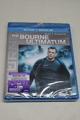 New Sealed The Bourne Ultimatum Blu-Ray + Digital HD Ultraviolet or iTunes