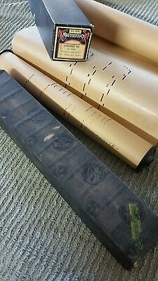 Piano rolls mastertouch fox trot ragtime staging items