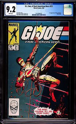 Gi Joe A Real American Hero 21 Near Mint- Cgc-Graded 9.2 Marvel Comics 1St Print