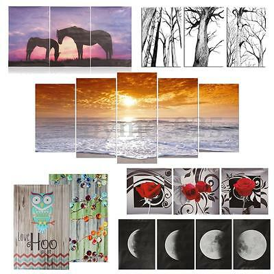 22 Types Abstract Unframed/framed Canvas Print Wall Art Painting Picture Decor