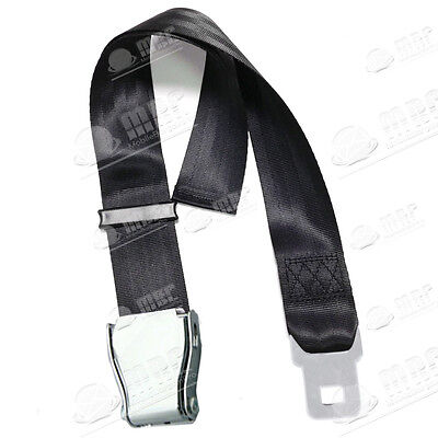 """Universal Airplane Airline Seat Belt Extender/Buckle Adjustable 21.65"""" to 39"""""""