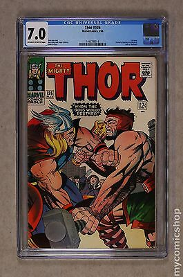 Thor (1962-1996 1st Series Journey Into Mystery) #126 CGC 7.0 1445796014
