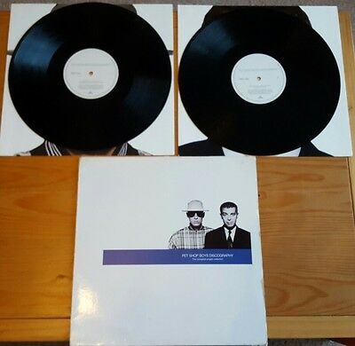 Pet Shop Boys - Discography Double Album LP Vinyl Original 1991