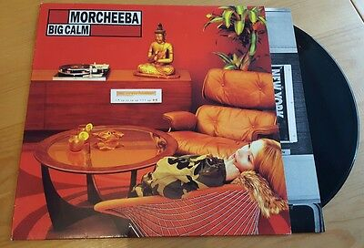 Morcheeba - Big Calm Vinyl LP Album Original 1998 ZEN017