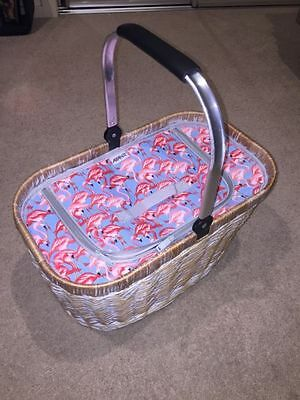 Avanti Insulated Picnic Food/Drink Carry Basket