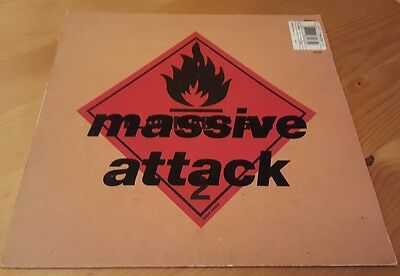 Massive Attack Blue Lines Original 1991 pressing LP Vinyl