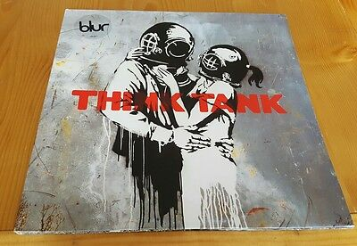 Blur Think Tank Original 2003 Double Album LP Vinyl