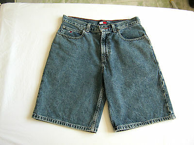 Tommy Hilfiger Shorts Jeans Boys Ragazzo Years 14 Anni